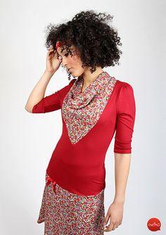 Knielange Kleider - Meko Kleid 'JOSLYN_8' - ein Designerstück von meko bei DaWanda