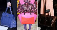 fall/ winter 2013-2014 handbag trends mix comfort and functionality