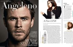 OUAI Haircare and Jen Atkin featured in Angeleno Magazine, April 2016