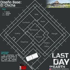 Earth Games, Survival, Base, End Of The World, Layout, How To Plan, Building Plans, Assassin, Games