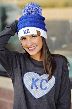 6693376e7db Winter is going to be here before you know it and you will need a trendy  beanie to keep you warm! The pom pom beanies are a hot trend and they look  ...