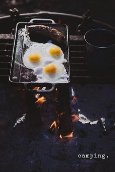 Camping Breakfast | Always with Butter