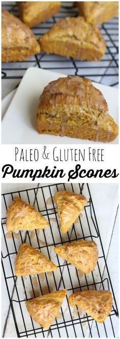 This paleo grain free pumpkin scone recipe is a family favorite. I also share my original and gluten free recipes.