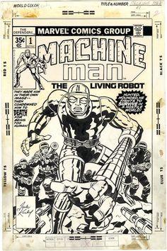 1978 - Anatomy of a Cover - Machine Man #1 by Jack Kirby