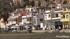 Zona costera del barrio pesquero de Pedregalejo, Málaga.