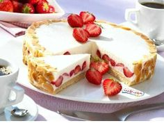 Erdbeer-Quark-Torte #strawberry #erdbeeren