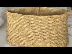 Paper rope bag making – Famous Last Words Crochet Backpack, Yarn Bag, Crochet Coat, Beaded Bags, Crochet Videos, Easy Knitting, Knitted Bags, Baby Knitting Patterns, Bag Making