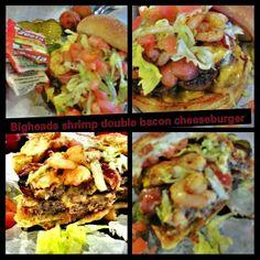 edmond oklahoma food | BigHeads Restaurant - Raging Cajun Burger - Foodspotting
