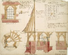 Details of covering to a well for Red House, Philip Speakman Webb, 1859 - Victoria and Albert Museum