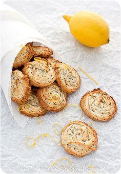 Lemon Poppy Seed Cookies by Katty-S, via Flickr