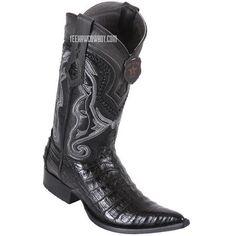 a9cad7355aefcb Men s Los Altos Caiman Belly Boots 3X Toe Handcrafted - yeehawcowboy Los  Altos Boots