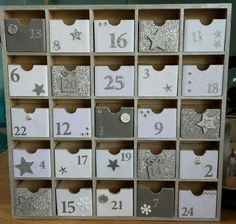 Advent calendar by Chloe's Patch