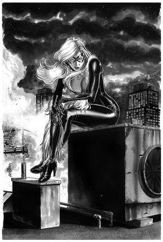 Black Cat by Jack Herbert