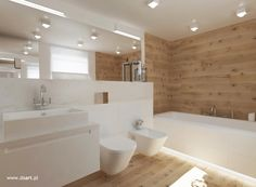 Badezimmer in Weiß, Schwarz und Holz daart badezimmerideen is part of Bathroom - Ensuite Bathrooms, Bathroom Spa, Modern Bathroom, Master Bathroom, Zebra Bathroom, Lowes Bathroom, Bathroom Interior Design, Interior Design Living Room, Vanity Decor