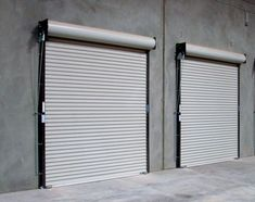 Steel Warehouse Roll Up Doors. siding and safety.