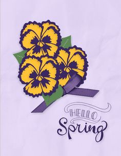 Hello Spring stamp brush set (138039). Click on the image to go to my blog post about the card.
