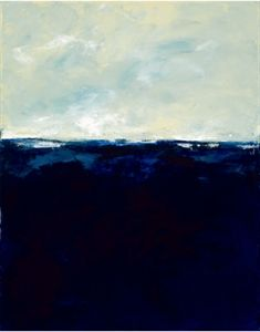 "via BKLYN contessa :: from shop greige :: deep blue :: giclee on canvas ::  47x59"" :: $489 + freight"