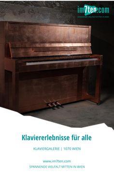Ein bisschen wissen muss man es schon, wo man sie findet und was dort alles geboten wird – in der Klaviergalerie. In diesem Blog-Beitrag erfährst du alles über das Unternehmen in der Kaiserstraße 10, in Wien. Die wichtigste Eigenschaft der Klaviergalerie ist ihre Offenheit. Ihre einladende, unkomplizierte Art. Hier wird ausnahmslos jeder Willkommen geheißen, der sich für das Klavierspiel interessiert. #im7ten #neubau #kaiserstrasse #wien #klavier #musik #kultur #vienna Foto: Sebastian Schmid Piano, Music Instruments, Blog, Knowledge, Piano Games, Openness, New Construction, Business, Culture