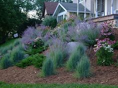 Desert Landscaping Walkways - Landscaping With Rocks Farmhouse - River Landscaping Design - - Sloped Backyard Landscaping, Landscaping On A Hill, Sloped Yard, Landscaping With Rocks, Landscaping Ideas, Landscaping Software, Steep Hillside Landscaping, In Law House, Up House