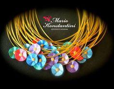 #flowers #waterlily #noufara #colors #necklace #kolie #mario  #konstantini