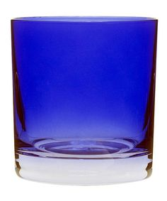 Sapphire Double Old Fashioned Glass - Set of Six by 10 Strawberry Street #zulily #zulilyfinds