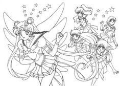 moon coloring pages Sailor Moon is also known as Pretty Soldier Sailor Moon is the title of a famous franchise created by Japanese manga a. Sailor Moon Coloring Pages, Cute Coloring Pages, Coloring Pages For Girls, Coloring Sheets, Coloring Books, Sailer Moon, Sailor Moon Wallpaper, Sailor Princess, Moon Illustration