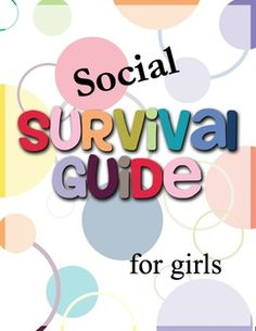 Children with #Autism, emotional disability, or other social deficits struggle with impairments in many areas - #relationships, #communication skills, #emotionalregulation, and #organization to name a few. This pack contains numerous activities to be used individually or combined to make a survival guide binder for a student with social difficulties. #socialskills #counseling