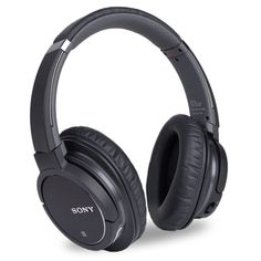 Sony MDR-ZX770BN Bluetooth v3.0 Wireless Noise Canceling Over-Ear Stereo Headphones w/Integrated Mic & Case