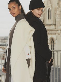 Busnel Depuis celebrates the meeting of classic chic with the fashionable woman of today. Classic Chic, Canada Goose Jackets, Winter Jackets, Celebrities, Womens Fashion, Image, Winter Coats, Celebs, Winter Vest Outfits