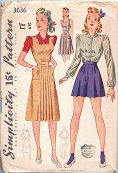 Simplicity 3636 | via Vintage Pattern Wiki.