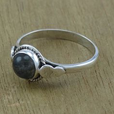 Free Shipping 925 Silver Unique Jewelry Labradorite Fashion Ring Size 6.5 #Handmade #Ring