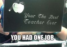 Best Of: You Had One Job