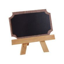 ArtMinds™ Chalkboard Easel With Burlap Trim