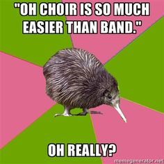 """EVERY SHOW CHOIR PRACTICE! One time I was walking down the hallway singing after show choir and someone was like """"this isn't choir"""" and I legitly replied """"SAYS WHO?"""" while my friends died of laughter Music Jokes, Music Humor, Theatre Nerds, Music Theater, Theatre Jokes, Choir Memes, Choir Quotes, Choir Songs, Teachers"""