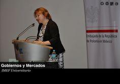 Embajadora de Polonia en Mexico.
