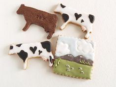 Their cow cookies! How cool is that ? got milk!