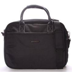 #taška #unisex Elegantní trendy černá taška - brašna Enrico Benetti pro pány i dámy. Ochraňte svůj počítač před vnějšími vlivy kvalitně a s elegancí. Do tašky se vleze notebook s maximálními rozměry 36 x 26 cm. Zepředu, zezadu a uvnitř jsou kapsy na zip. Součástí je nastavitelný odepínací popruh přes rameno. Novinka 2016/2017!