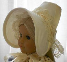Caroline's Early 1812 Day Bonnet - Regency Period. $35.00, via Etsy.