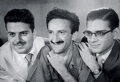 Augusto de Campos, Décio Pignatari e Haroldo de Campos