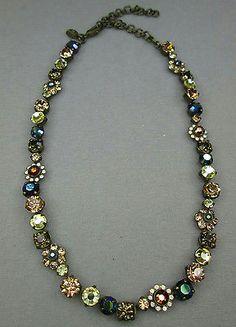 Sorrelli Rhinestone Costume Fashion Sparkle Flower Jewelry Necklace - http://elegant.designerjewelrygalleria.com/sorrelli/sorrelli-rhinestone-costume-fashion-sparkle-flower-jewelry-necklace/