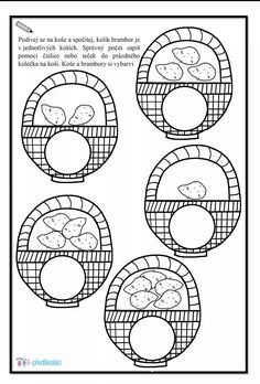 Potato Coloring Pages Printables Alphabet, Preschool Worksheets, Coloring Pages, Symbols, Letters, Math, Vegetables, Bambi, Printables