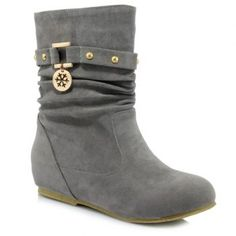 SHARE & Get it FREE   Stylish Metal and Increased Internal Design Women's BootsFor Fashion Lovers only:80,000+ Items·FREE SHIPPING Join Dresslily: Get YOUR $50 NOW!