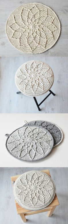 """Tatsiana from Lilla Björn Crochet says the following about this lovely pattern: """"l love to play with colors, but sometimes you need a """"color silence"""" to clear your thoughts and think more about the shape and structure. I had one big ball of Barroco..."""