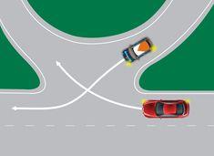 illustration of freeway interchange