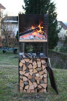 Feuerinsel Stromboli ruedi humbel produktewerkstatt ruedihumbel.ch