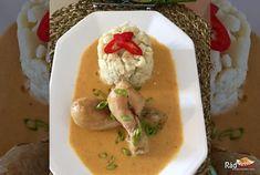 Výborný recept na Kura na smotane a domáce halušky. Tento recept si zamiluješ. Najlepšie kura na smotane s domácimi haluškami. Poteš seba svojich blízkych