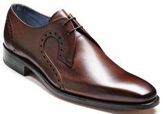 Barker Shoes – Orlando Dark Brown Calf…