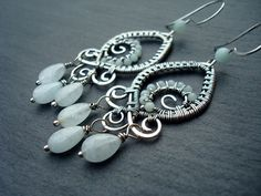 Hey, I found this really awesome Etsy listing at https://www.etsy.com/listing/219680566/aquamarine-earrings-wire-wrap-earrings