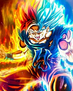 Goku in different forms at once Dragon Ball Z, Dragon Ball Image, Mega Anime, Goku Wallpaper, Son Goku, Stevie Young, Dbz Vegeta, Epic Characters, Goku Super