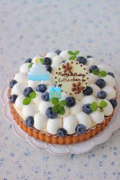 corecle コレクル > あいりおー > バースデーフルーツタルト ラズベリータルト作った。おいしかった。 小さい丸形3つ長方形1つできた。 クッキー生地は半分余る。 カスタードもちょっと余る。 クッキー生地とカスタードを前日から作ると楽かな。 Sweet Pie, Fruit Tart, Sweets Cake, Japanese Sweets, Mini Cakes, Let Them Eat Cake, Beautiful Cakes, Sweet Recipes, Cake Decorating